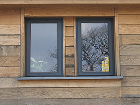 Irish Oak double glazed windows
